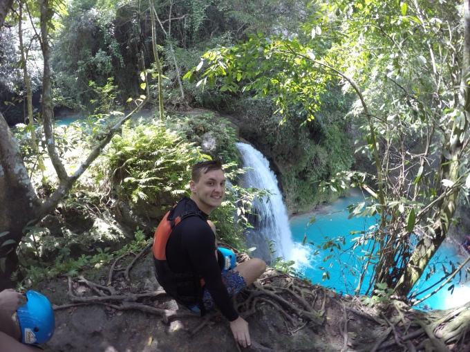 Canyoning at Kawasan Falls